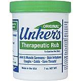 Unker's Unker's therapeutic rub 7 ounces, 7 Ounce