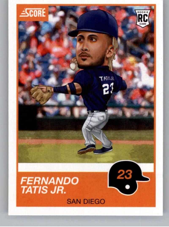 2019 Chronicles Score Baseball #16 Fernando Tatis Jr San Diego Padres RC Rookie Card Official MLBPA Trading Card From Panini America