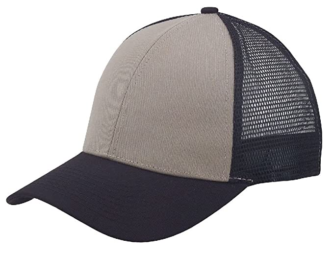 389befc7af5263 Dustin clothing series Low Crown Cotton Twill 6 Panel Mesh Baseball Trucker  Hats Hat Caps at Amazon Men's Clothing store: