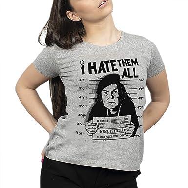 ULABL – Camiseta Goonies Mama Fratelli – 100% algodón orgánico ...