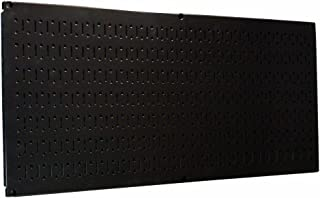 product image for Wall Control Pegboard 16in x 32in Horizontal Black Metal Pegboard Tool Board Panel