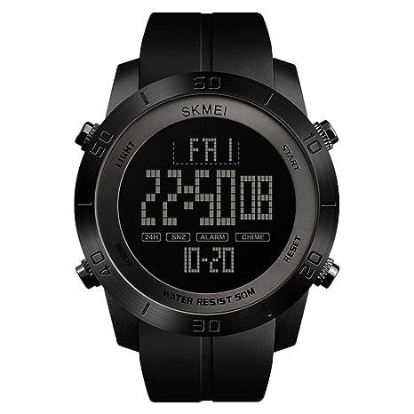 DSADDSD # Reloj Digital Impermeable para Hombre Reloj Deportivo para Hombre Reloj Multifuncional Impermeable para Hombres