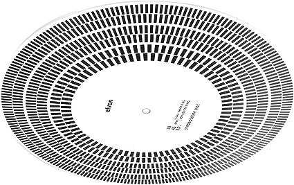 ZOUCY LP Disco de Vinilo Placa giratoria Fono Tacómetro ...