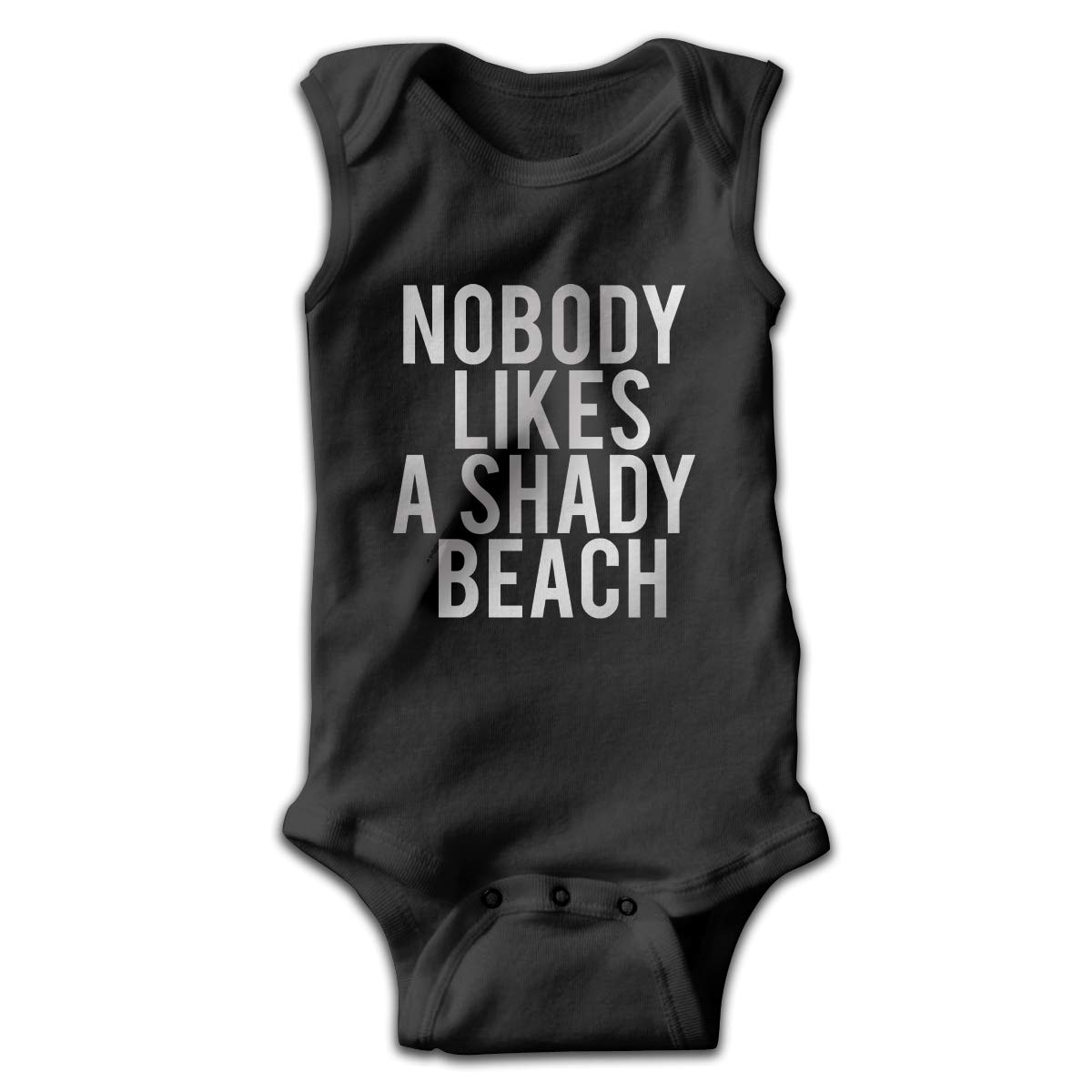 Efbj Toddler Baby Boys Rompers Sleeveless Cotton Jumpsuit,Nobody Likes A Shady Beach Outfit Winter Pajamas