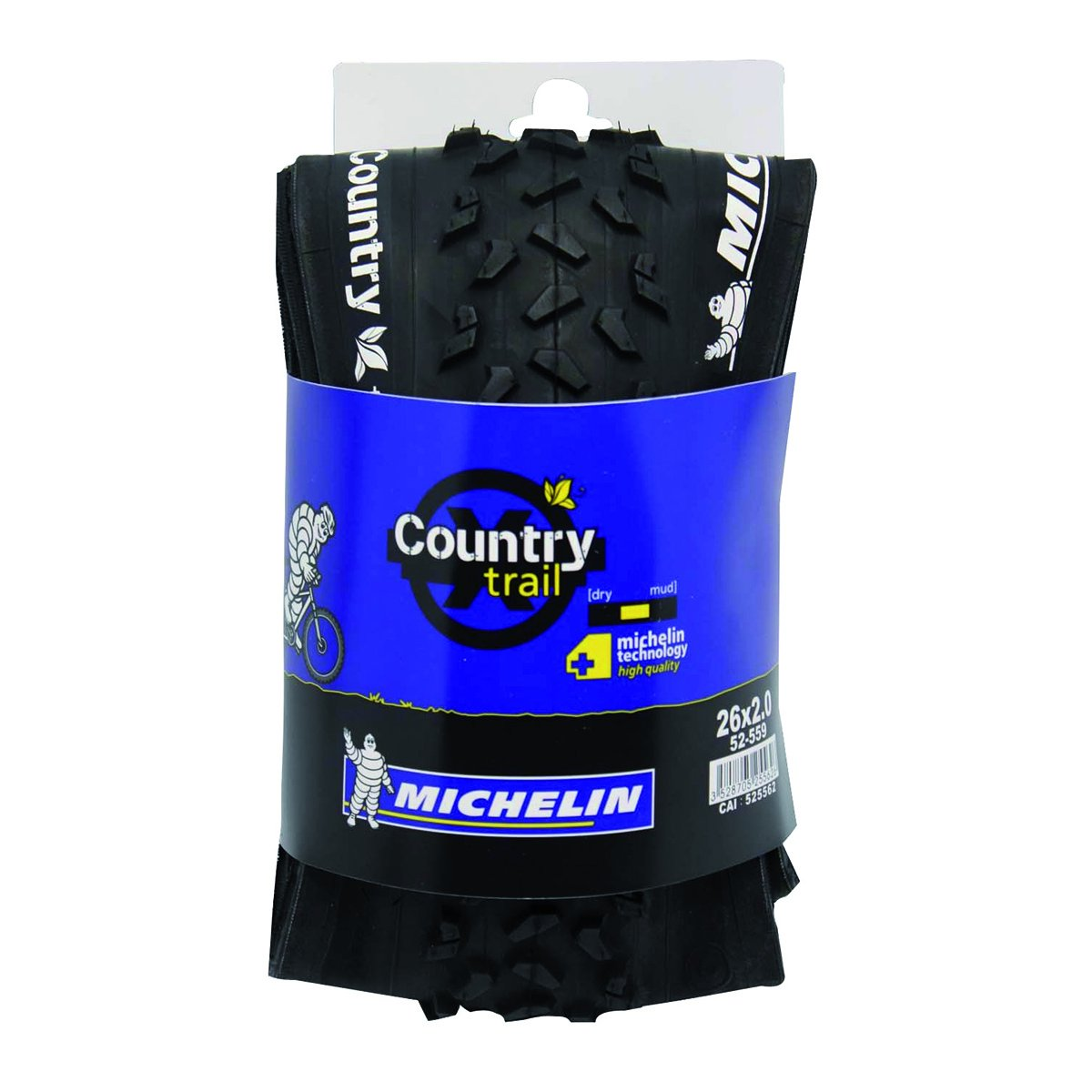 Michelin Country Trail - Cubierta para bicicleta: Amazon.es: Deportes y aire libre
