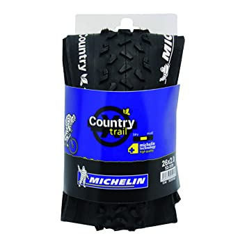 Michelin Country Trail Cubierta, Unisex, Negro, 26 x 2 cm