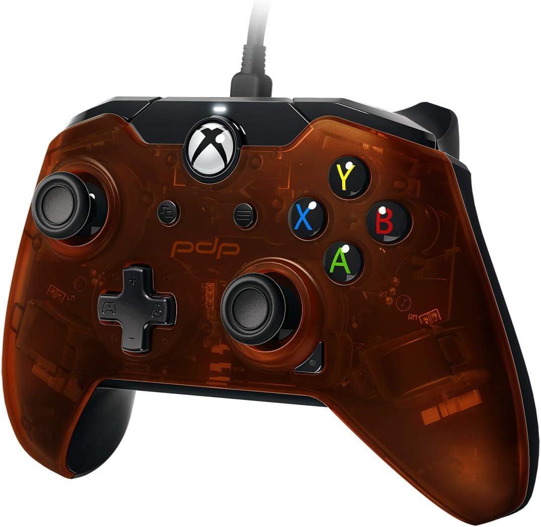 Pdp - Mando Con Cable Naranja Licenciado (Xbox One): Amazon.es: Videojuegos