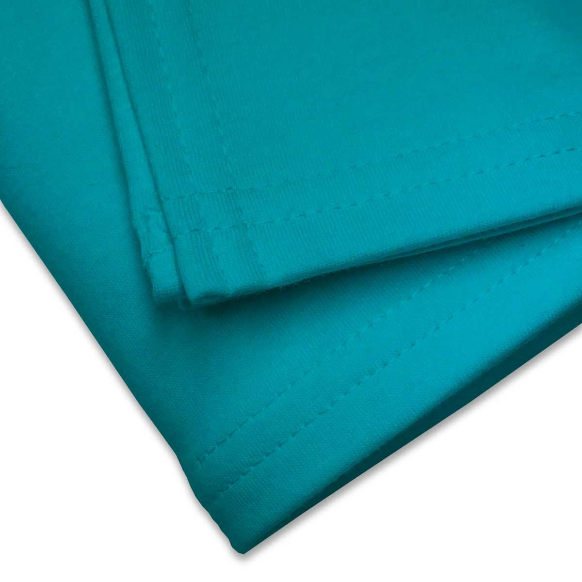 Made In USA SheetWorld Soft /& Stretchy Swaddle Blanket Baby Blue