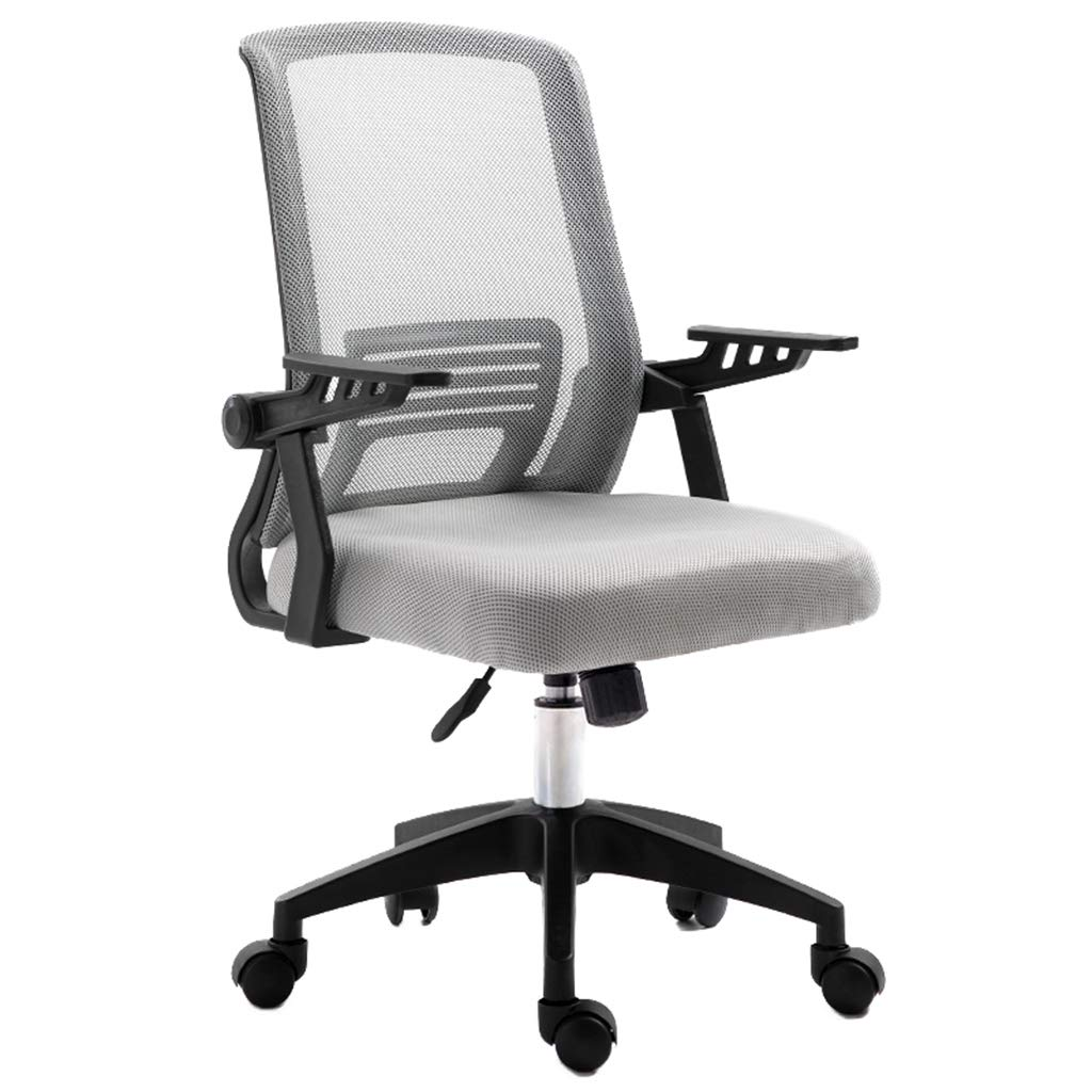 Office Chair, Heavy-Duty Comfortable Medium-Sized Home Office Computer Chair with 5 Casters, Lifts and Handrails.