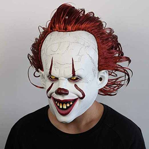 SUT Máscaras LED De Halloween, Disfraz Terrible para Fiestas De ...