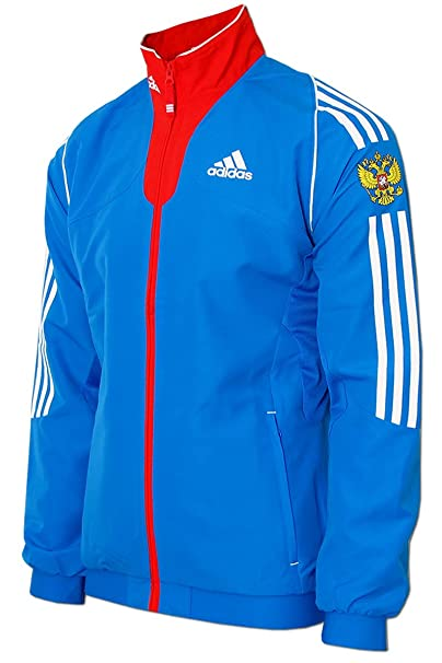 Amazon 34 It Adidas Sportiva Blue Pzowwqdt Sports Red Giacca xwt0tpzfq