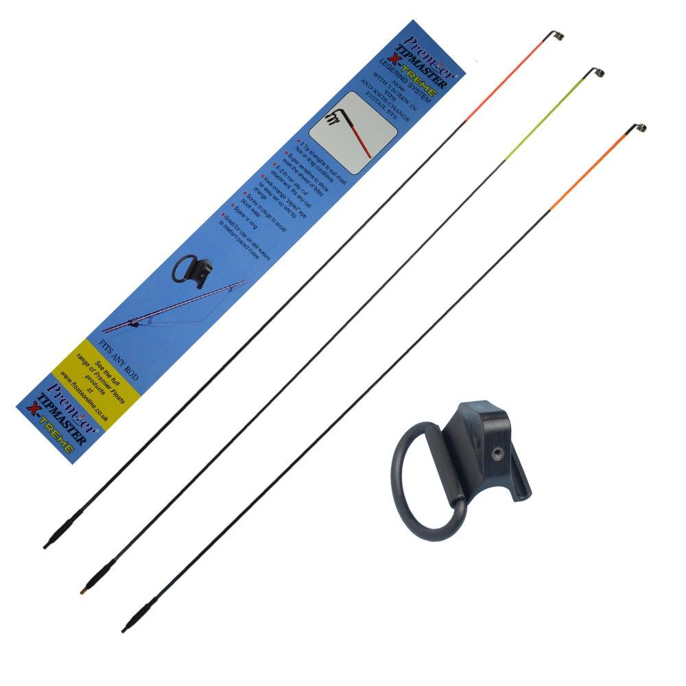 Premier Tipmaster X-treme Sidewinder Quivertip inc 3 tips Fishing tackle