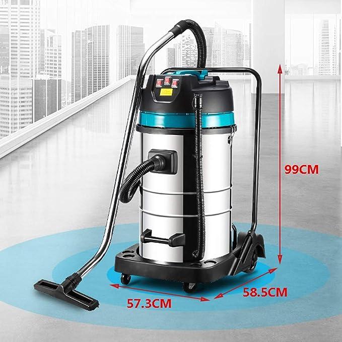 TY-Vacuum Cleaner MMM@ Aspirador Industrial Aspirador de Cubo Grande de 80 l Mojado y seco us Adecuado para el Hotel Fábrica de Lavado de Autos Ajuste de Tres velocidades 1000/2000 / 3000w: