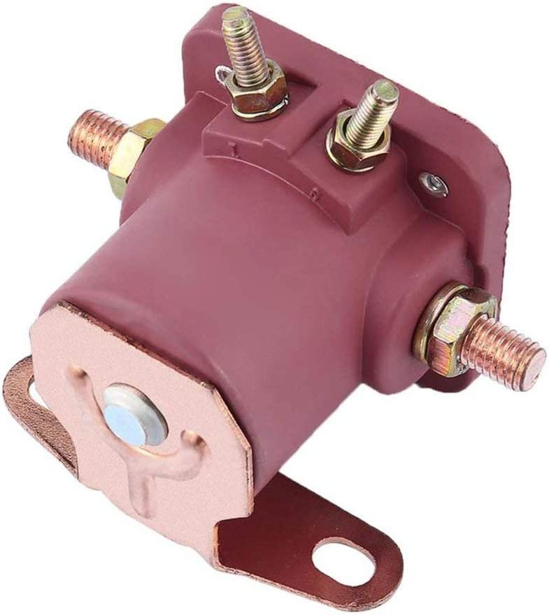red SW3 YUIO 12V Heavy Duty Red Solenoid Relay for Ford Starter Car Truck SNL135 Contactor Switch Engine Part Vehicle Accessories