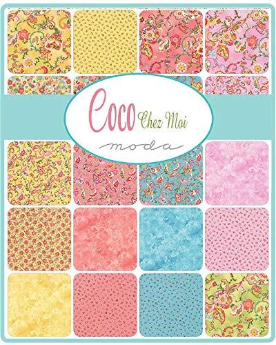 Chez Moi Coco Layer Cake 42 10-inch Squares Moda Fabrics 33390LC
