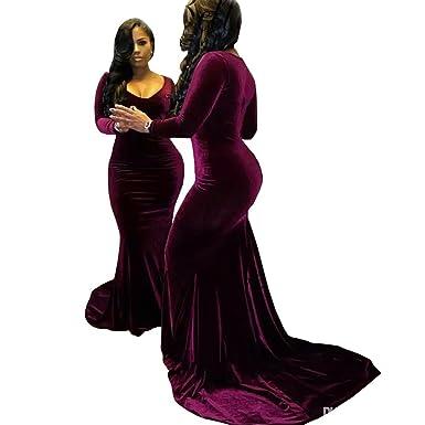 Mermaid Velvet Dress