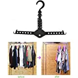 TraveT Clothes Hanger No Need Folding Space Save Hook Rack