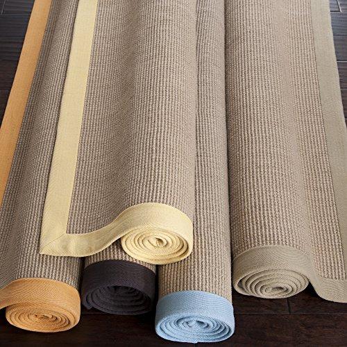 Surya Soho SOHO BEIGE Natural Fiber Hand Woven 100% Natural Jute Tan 5' x 8' Area Rug (Surya Jute Soho)