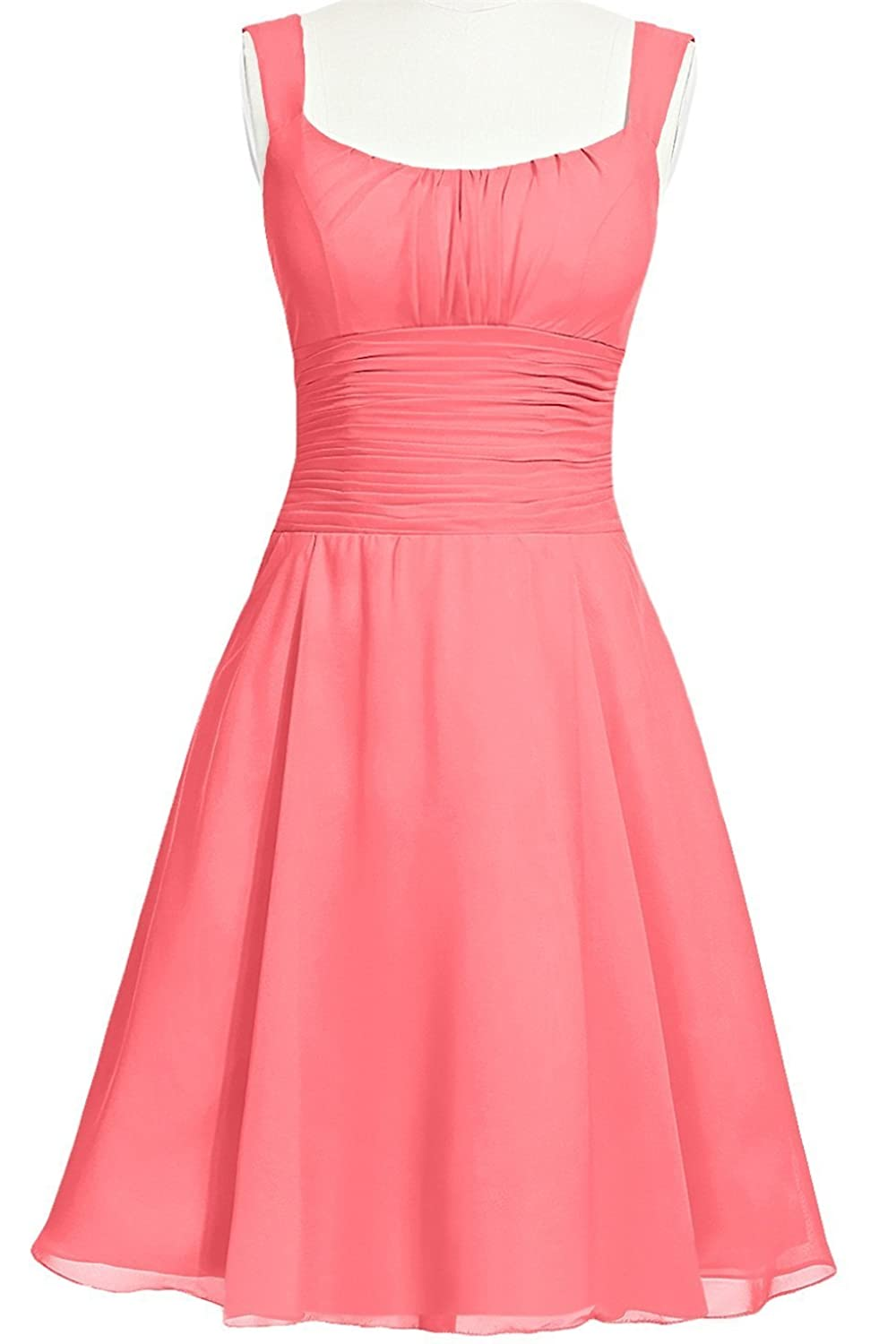 MittyDressesWomens Evening Homecoming Prom Party Cocktail Dress Size 10 US Watermelon