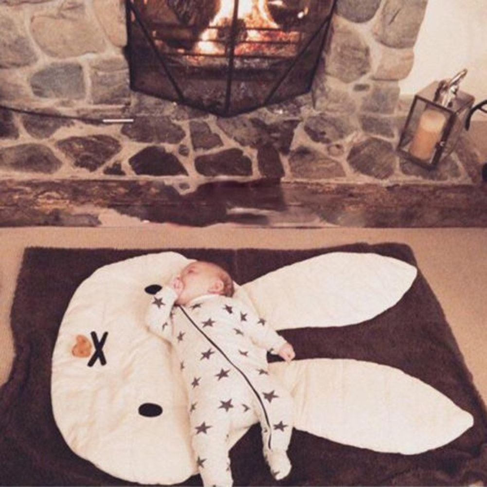 ink2055 Lovely Rabbit Crawling Play Mat Carpet Kids Room Game Pad Home Decoration by ink2055 (Image #4)