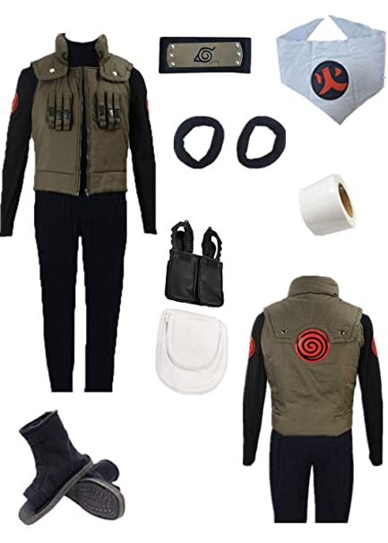 Amazon.com: YOUYI Naruto Sarutobi Asuma - Disfraz de ...