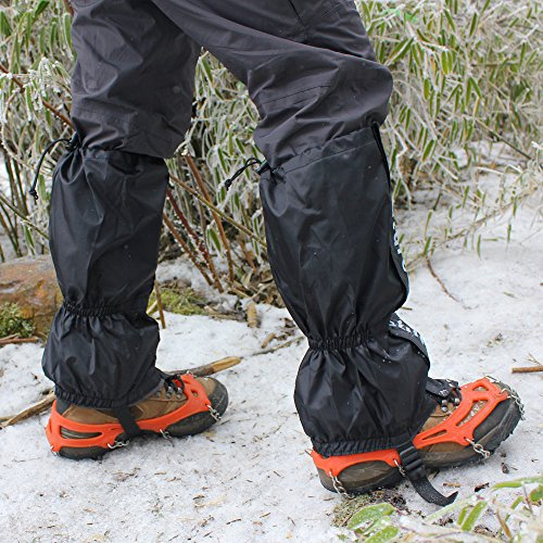 NATURE WORSHIP Gaiters Waterproof For Men and Women Snow Hiking Skiing Running Hunting Leg Covers by NATURE WORSHIP (Image #6)