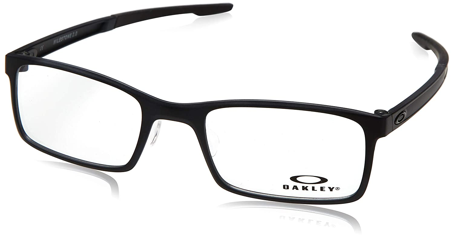2482b78940 Eyeglasses Oakley Frame OX 8047 804701 SATIN BLACK at Amazon Women s  Clothing store
