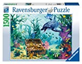 Dolphin Treasure Jigsaw Puzzle, 1500-Piece