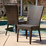 Great Deal Furniture Solana Outdoor Brown Wicker Chairs (Set of 2) Review