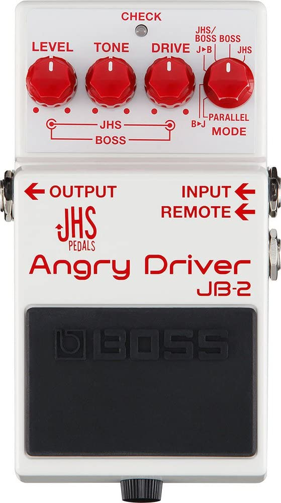 BOSS JB-2 Angry Driver Distortion Overdrive Pedal