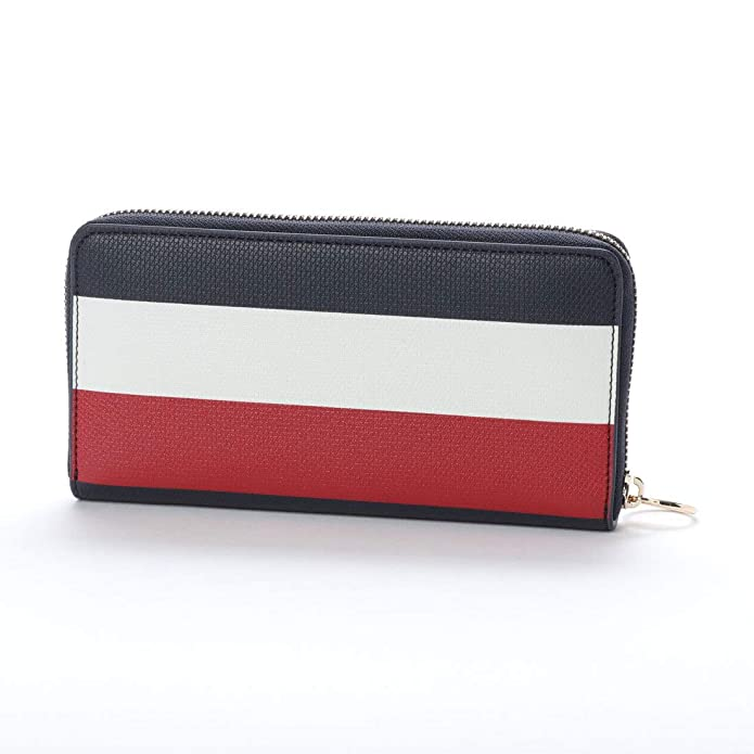 Amazon.com: Tommy Hilfiger Effortless Saffiano Za Wallet, Womens Black, 2x11x19 cm (B x H T): Shoes