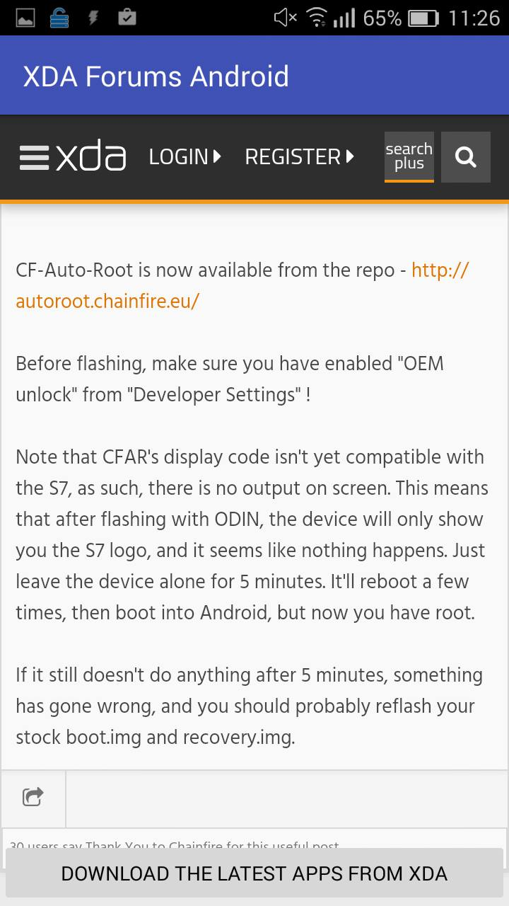 XDA Forums Android
