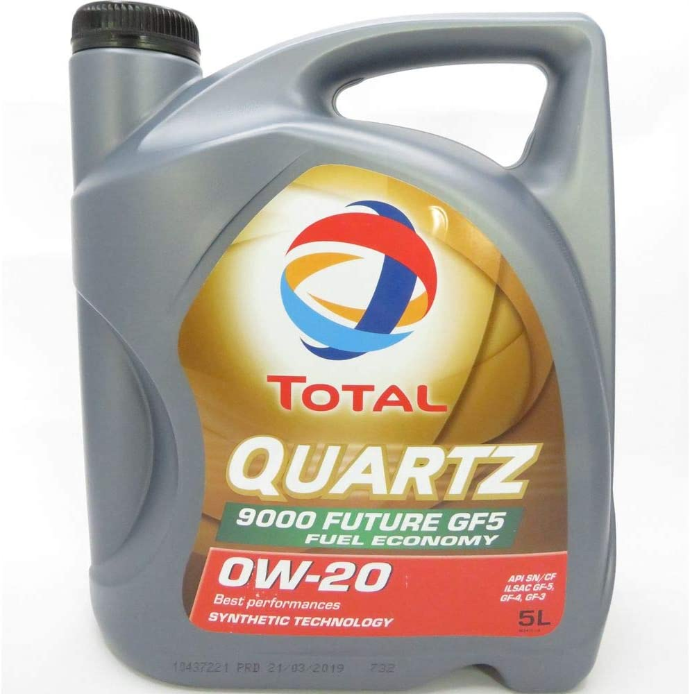 Total 5 Liter Quartz 9000 Future Gf5 0w 20 Auto