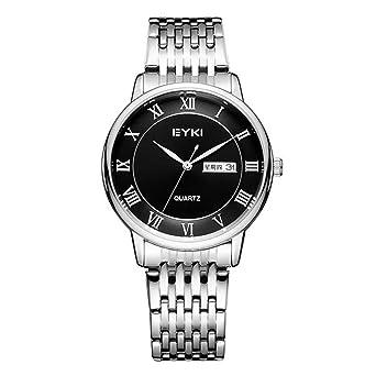 TIDOO Men Watch Date Day Stainless Steel Relojes Hours Clock Dress Casual Quartz Watches Sport Wristwatch