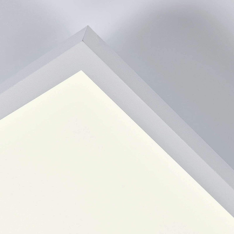Deckenlampe - B/ürolampe A+, inkl. Leuchtmittel Lampe Arcchio LED Panel Philia dimmbar mit Fernbedienung Deckenleuchte in Wei/ß u.a Modern f/ür Wohnzimmer /& Esszimmer