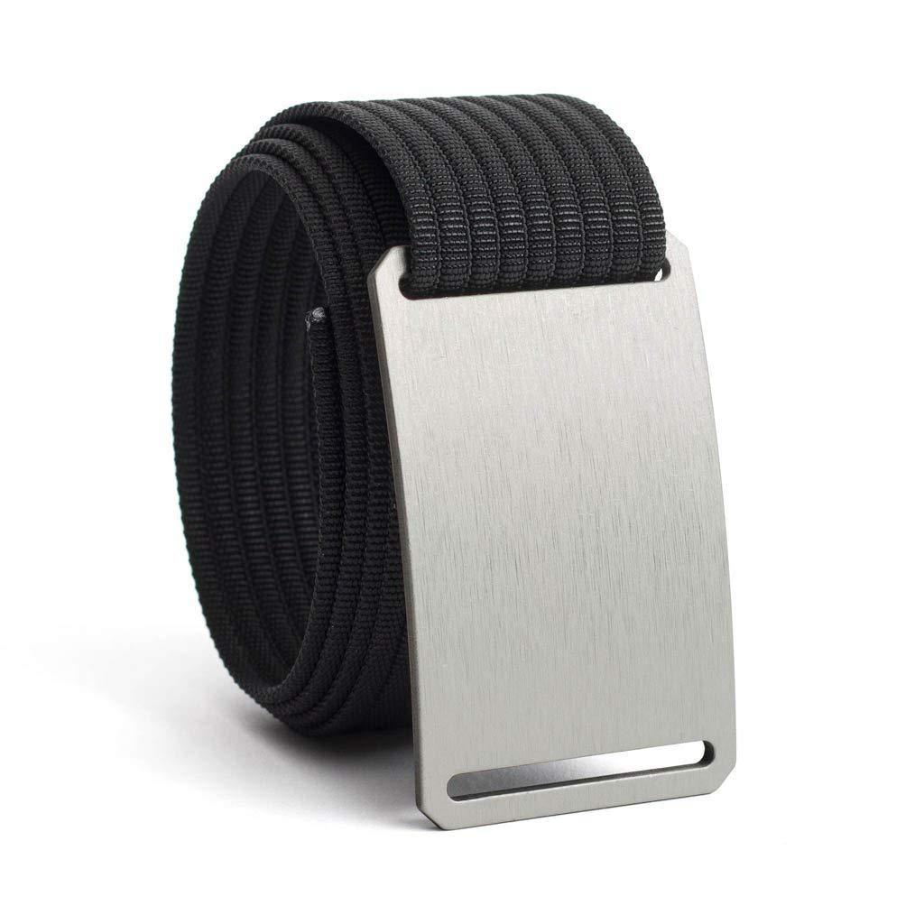 Men's Web Belt GRIP6 (46in Granite w/Black Strap)