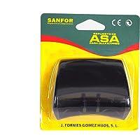 Sanfor Negro | 7 x 8 x 5 cm Blíster Asa para Olla a presión Adaptable Magefesa con Tornillo Fácil de Montar