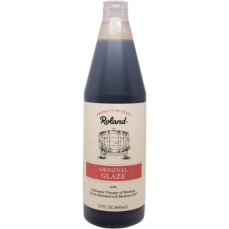 Amazon Com Roland Foods Balsamic Vinegar Glaze Of Modena 27 Ounce Vinaigrette Salad Dressings Grocery Gourmet Food