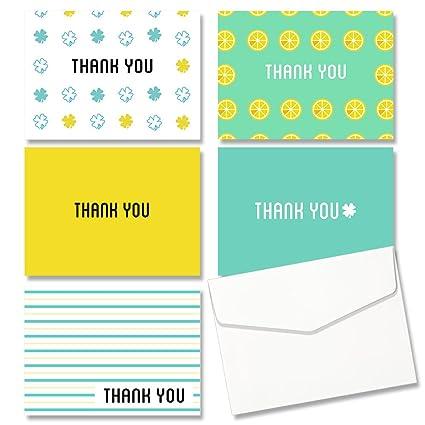 Jofanza - Tarjeta de agradecimiento, 5 diseños diferentes ...