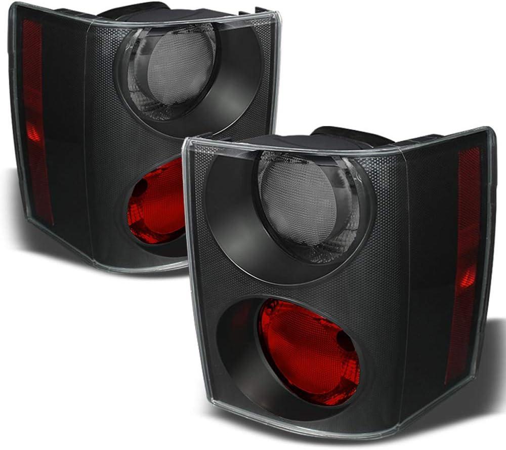 ACANII - For 2006-2009 Land Rover Range Rover HSE Red Smoke LED Tail Lights Brake Lamps Set