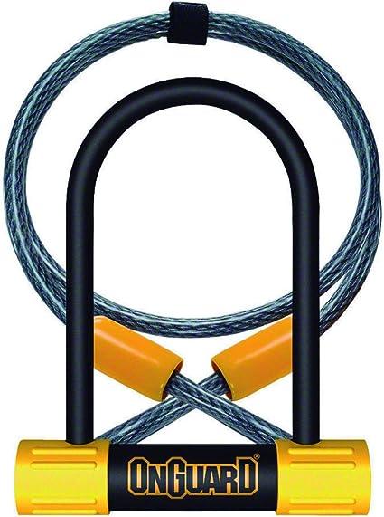 ONGUARD PITBULL MINI 8006 U-LOCK SMALL D BIKE SHACKLE FOR BIKE CYCLE