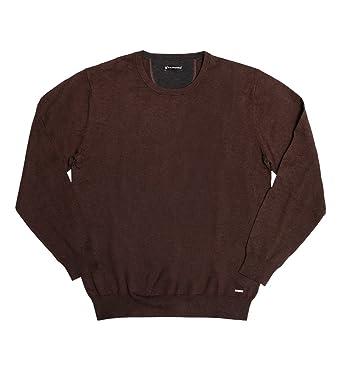 Peek & Cloppenburg Men's Cotton Pullover, Brown, Size XL