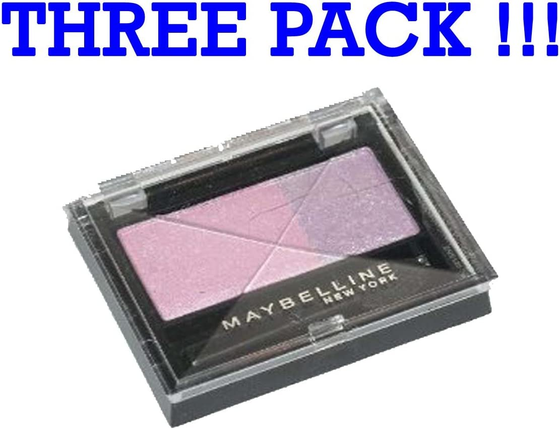 Tres Pack Maybelline Eye Studio Eyeshadow sombras de ojos Duo Amethyst 107: Amazon.es: Belleza
