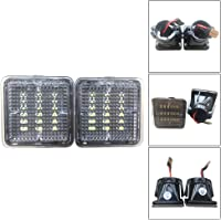 Xueliee 2PCS LED Bumper License Plate Light Lamp Fit for Toyota 2016-19 Tacoma 2014-19 Tundra