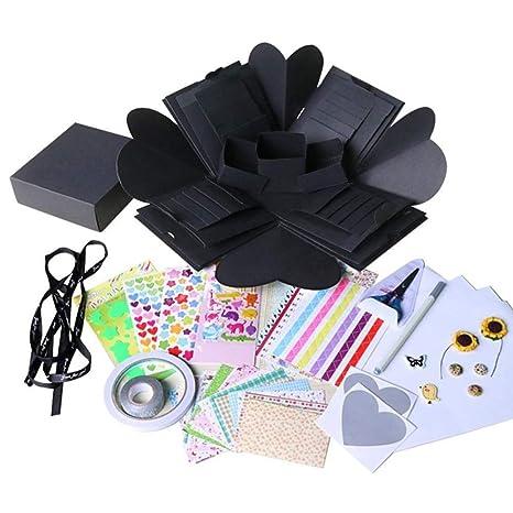 Amazon.com: Cajas de regalo, 1 caja de sorpresa para boda o ...