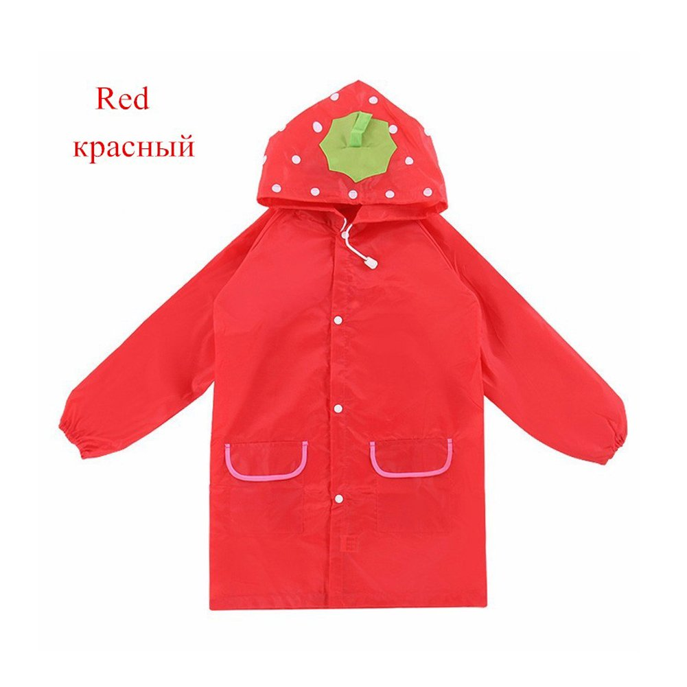Wanna Kids Rain Coat Children Raincoat Rainwear/Rainsuit, Kids Waterproof Animal Raincoat 1pcs