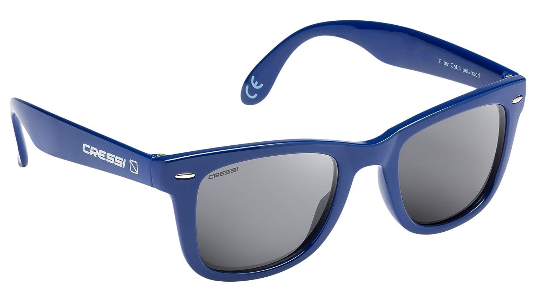 TALLA Talla única. Cressi Tortuga - Gafas de Sol Premium - Unisex Adulto Polarizadas Protección 100% UV