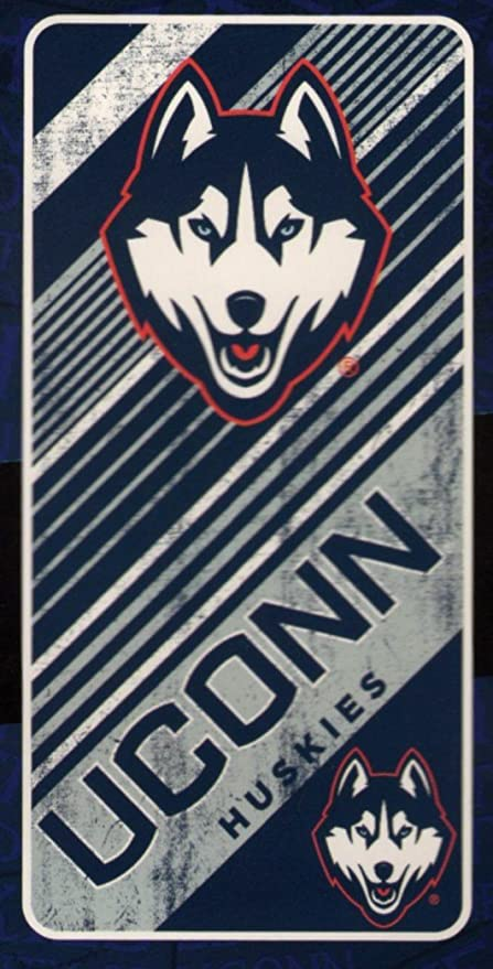 buy online de062 f3a71 Image Unavailable. Image not available for. Color  The Northwest Company Connecticut  UCONN Huskies NCAA 28x58 Fiber Reactive Cotton Beach Towel