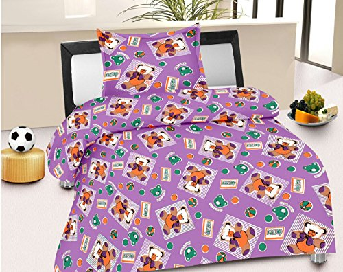 Jiya Decor 100% Cotton Single Bed Sheet With 1 Pillow Cover- S-CK1047