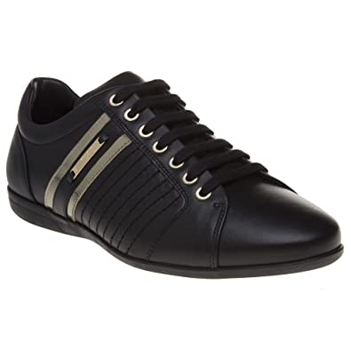 8f1cdd21646 Versace Collection Formal Homme Baskets Mode Noir  Amazon.fr ...